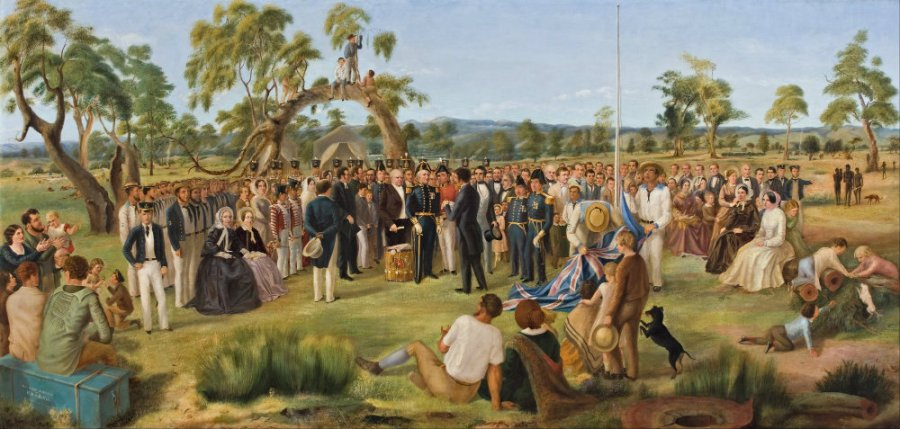 Charles_Hill_-_The_Proclamation_of_South_Australia_1836_-_Google_Art_Project