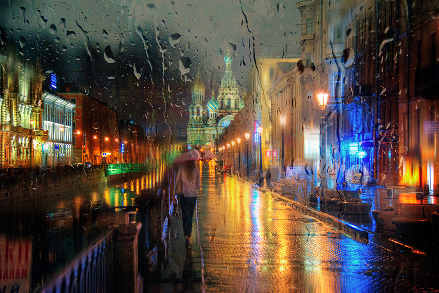 rain-street-photography-glass-raindrops-oil-paintings-eduard-gordeev-30