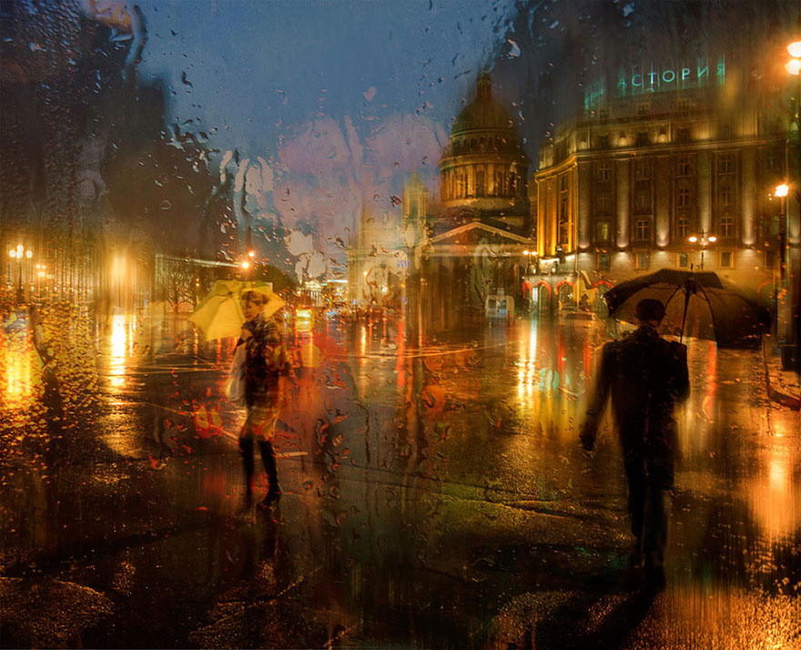 rain-street-photography-glass-raindrops-oil-paintings-eduard-gordeev-9