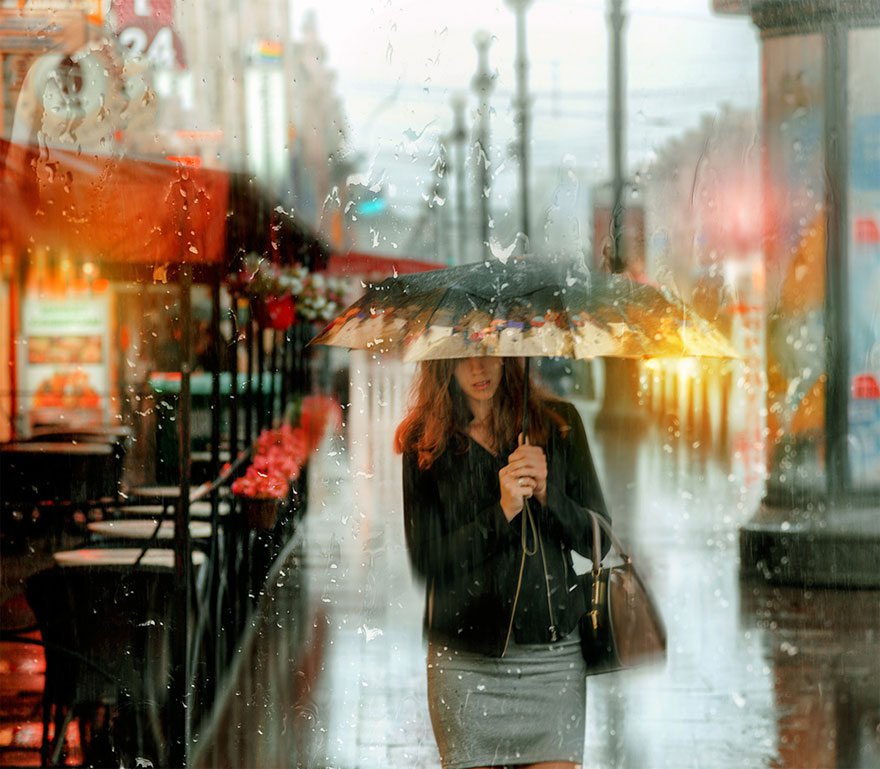 rain-street-photography-glass-raindrops-oil-paintings-eduard-gordeev-2