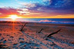 """Sunrise at WooliBeach""."
