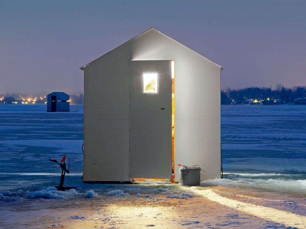 Strange Fishing Ice Huts  | Old Guv Legends