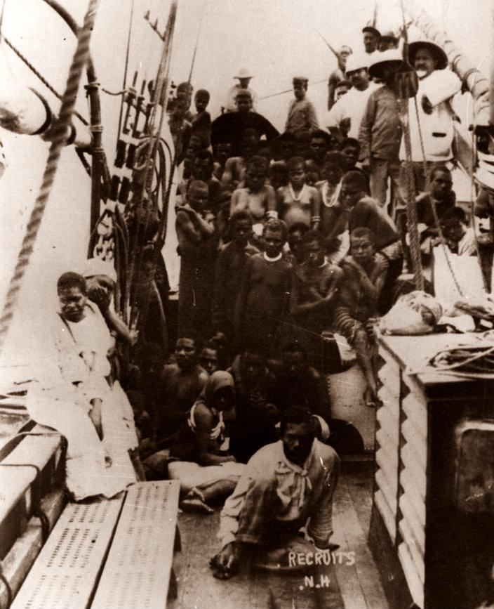 South-Sea-Islanders-on-a-labour-vessel
