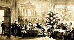 Was this Britain's First Christmas Tree circa1800?