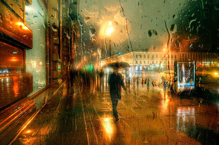 rain-street-photography-glass-raindrops-oil-paintings-eduard-gordeev-22