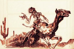 The Wild West's Red Ghost Rider,1883.