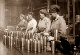 WWI Female Munitions workers handled TNT and turned Yellow all for Half the Wages ofMen.