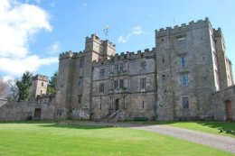 """Chillingham Castle, northern England, home to the """"Blue Boy""""Ghost."""