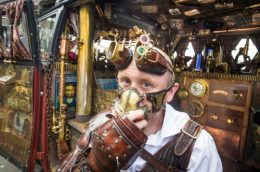 The Whitby Steampunk Weekend, Yorkshire.