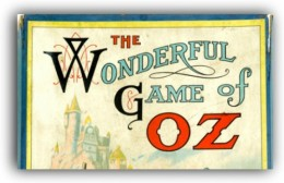 The First Wizard of Oz Board Game,1921.