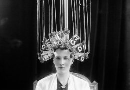 Permanent Electric Hairstyling in1923.