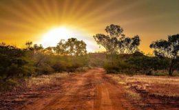 Golden Sunset in theOutback.