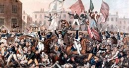 Peterloo, the bloody clash that changed Britain,1819.